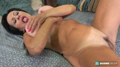 PornMegaLoad – Mona Marley What Big Tits You Have Grandma