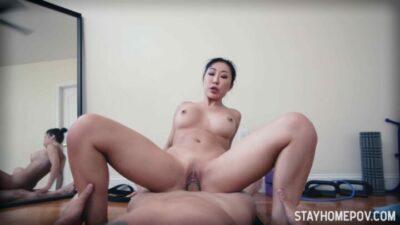 StayHomePOV – Nicole Doshi Deep Stretch Fitness Babe